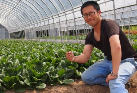 横田 弘平 (弘法菜園 代表)
